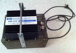 Dave Walker, ZL2DW's Junk Box Power Supply. Cost = $10.00 and the Winner on the Night!